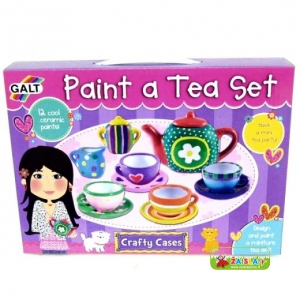 Rinkinys PAINT A TEA SET Galt