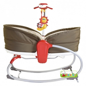 Lopšys - gultukas Rocker Napper Flow 3in1 Tiny Love