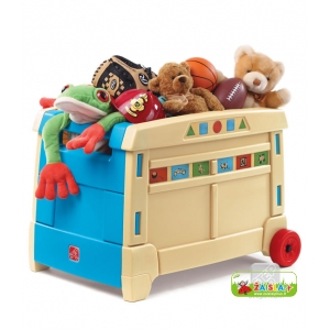 "Žaislų dėžė ""Lift & Roll Toy Box"" Step2"