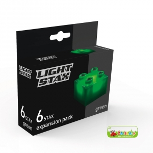 Light STAX Expansion Green (6 pcs 2x2)