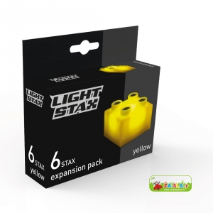 Light STAX Expansion Yellow (6 pcs 2x2)