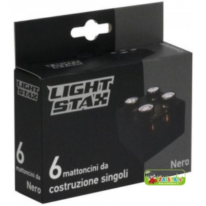 Light STAX Expansion Black (6 pcs 2x2)
