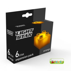 Light STAX Expansion Orange (6 pcs 2x2)