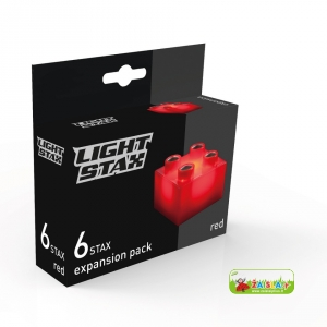 Light STAX Expansion Red (6 pcs 2x2)