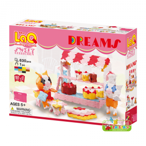 "LaQ ""Sweet Collection ""Dreams"" konstruktorių rinkinys"